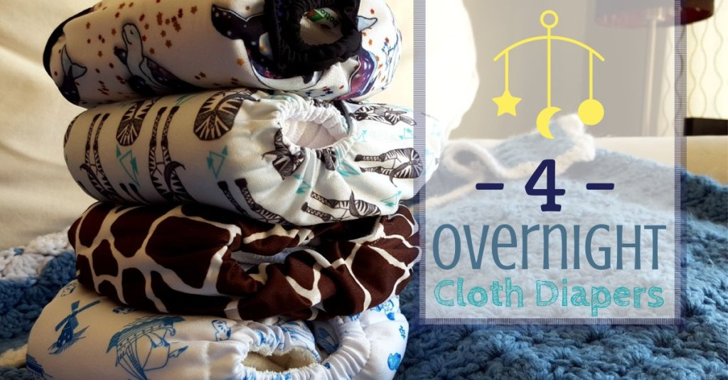 4 Overnight Cloth Diapers for Dry Mornings