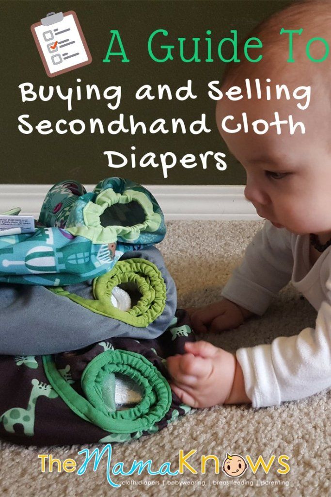 A helpful guide for buying and selling secondhand cloth diapers online.