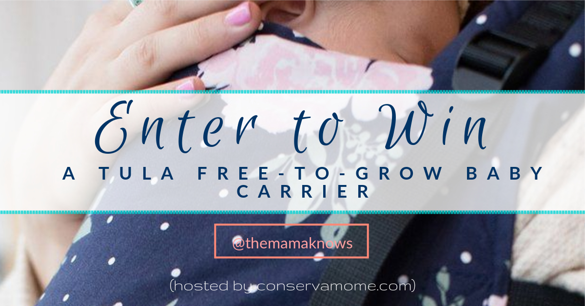 Win a Tula Free-to-Grow Baby Carrier