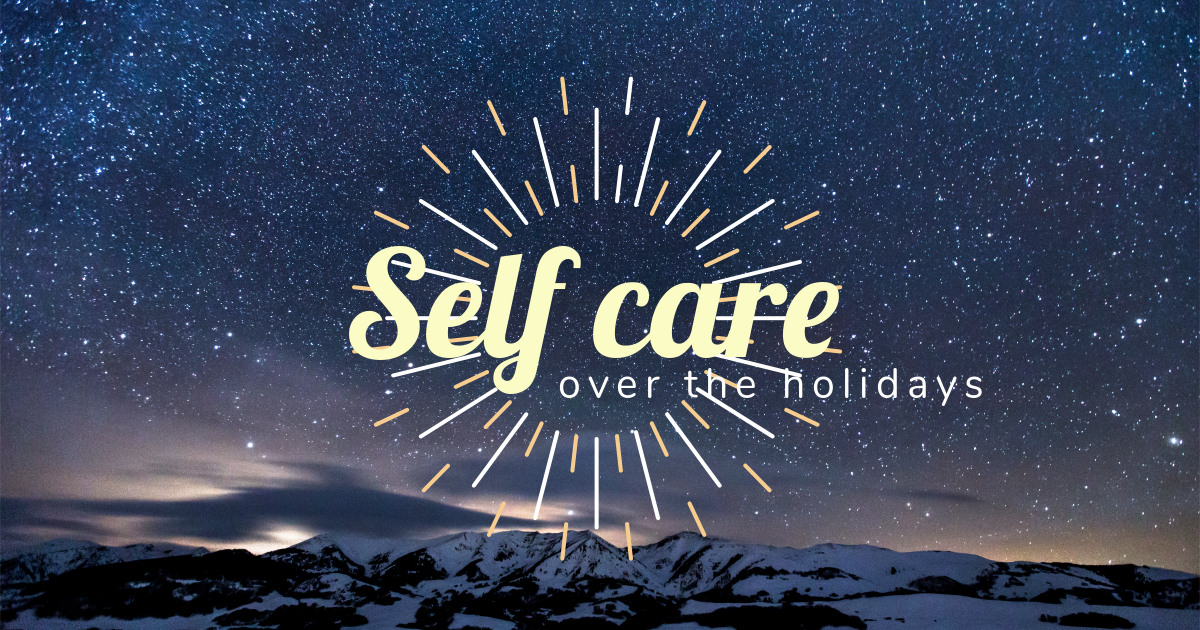 Self Care over the Holidays