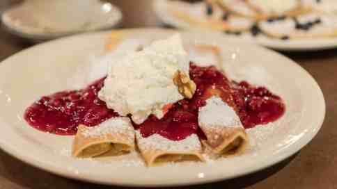 pancake pantry gatlinburg tn raspberry crepes