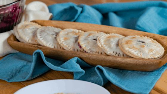 Blueberry Hand Pies - Mini Pies
