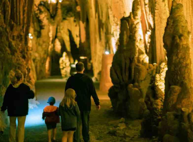 Cathedral Hall Grand Caverns Shenandoah Valley Virginia