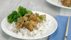 Instant Pot Soy Sauce Chicken with white rice and broccoli