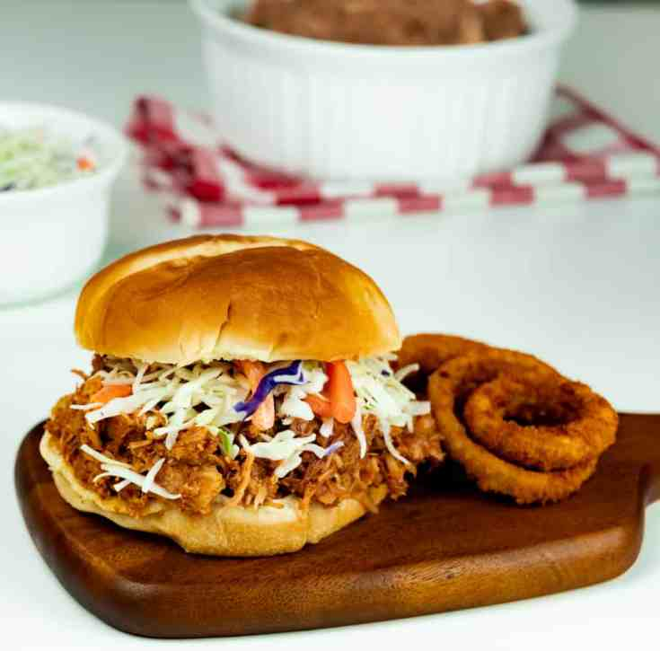 Instant Pot Sweet and Savory Pulled Pork