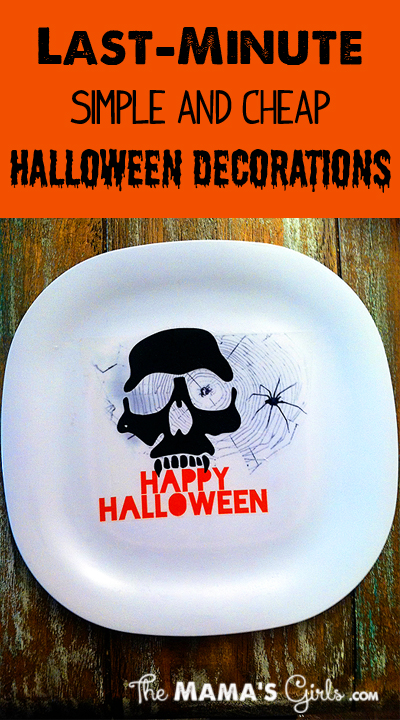 Last Minute Simple And Cheap Halloween Decorations