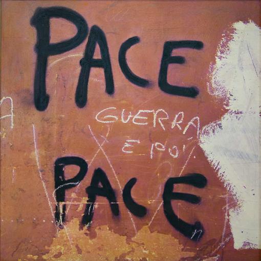 Nino Migliori, da Muri, 1973, tecnica mista, cm. 100x100 Opera vintage e unicum