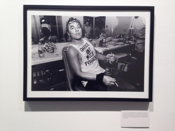 Uno degli scatti di Greene in mostra allo store Leica di Milano
