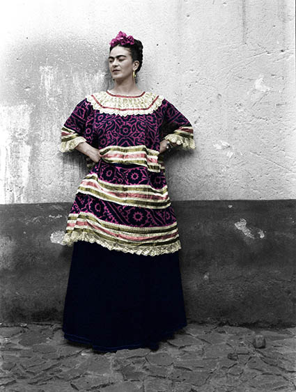 "Frida Kahlo © Eva Alejandra Matiz and ""The Leo Matiz Foundation"""