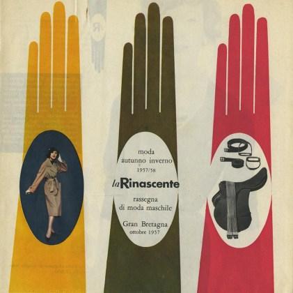 Sfilata di modelli autunno inverno 1957/58