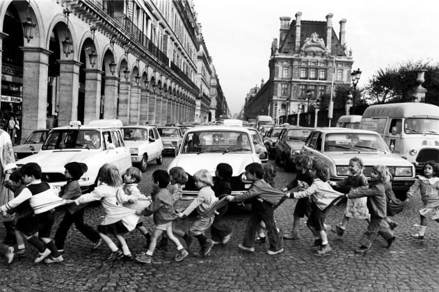Robert Doisneau, Los mandiles de Rìvoli, 1978 @ Atelier Robert Doisneau