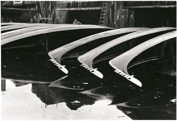Fulvio Roiter Venezia, Squero di San Trovaso, 1970 © Fondazione Fulvio Roiter