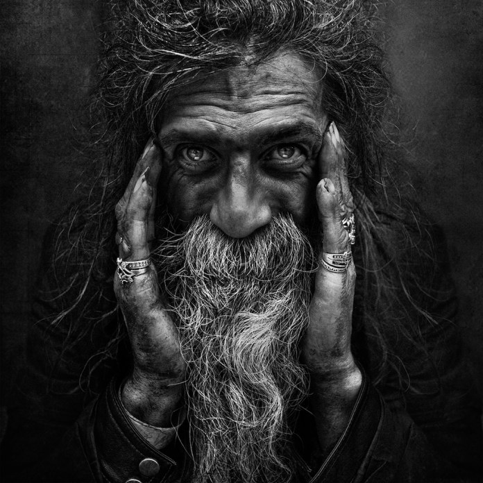 Lee Jeffries Homeless