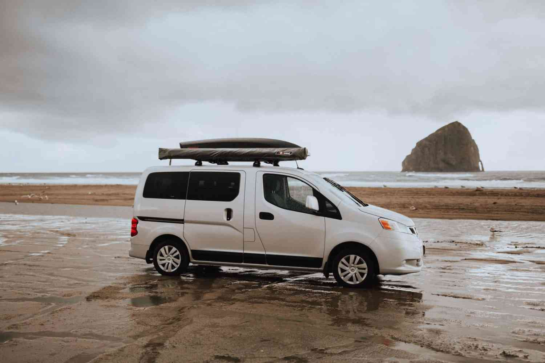 Exploring Cape Kiwanda - Pacific Coast, Oregon State. Come explore the beauty of the ocean, beach textures, moody PNW rain, Pacific Northwest vibes, and heavy ocean air. TheMandagies.com