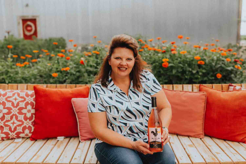 Exploring Idaho's Wine Country - Huston Vineyards - The Mandagies