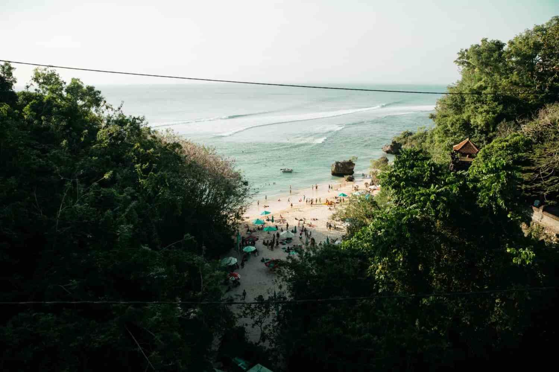 10 Adventurous Instagram Spots In Bali - Padang Padang Beach