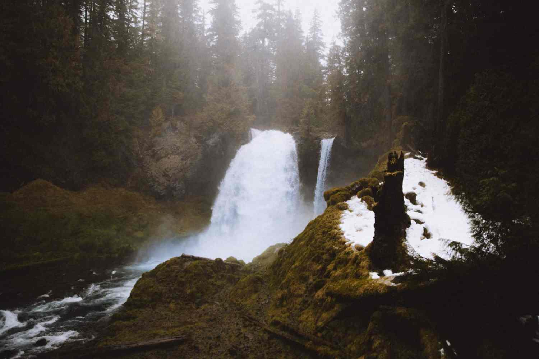 Waterfalls in Oregon - Sahalie Falls