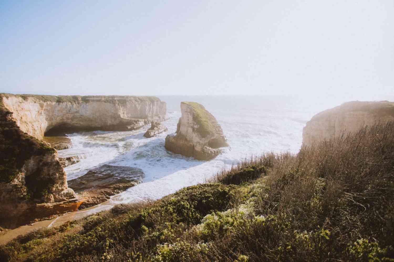 Shark Fin Cove Overlook by The Mandagies