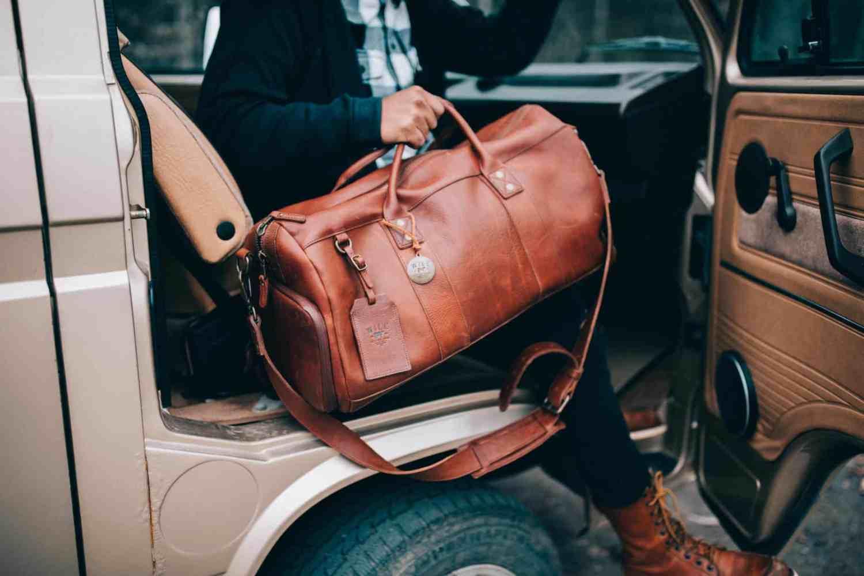 Will Leather Goods Duffel - What To Wear Alaska Road Trip - TheMandagies.com