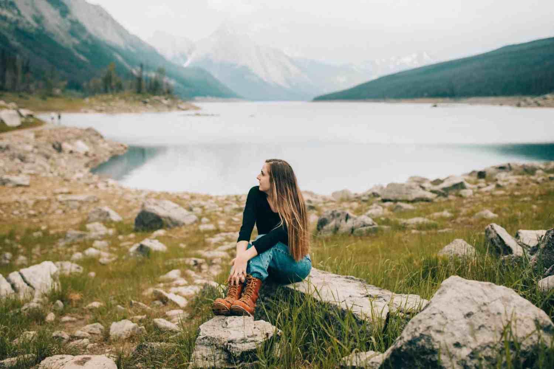 Photo Spots In Jasper National Park - Medicine Lake