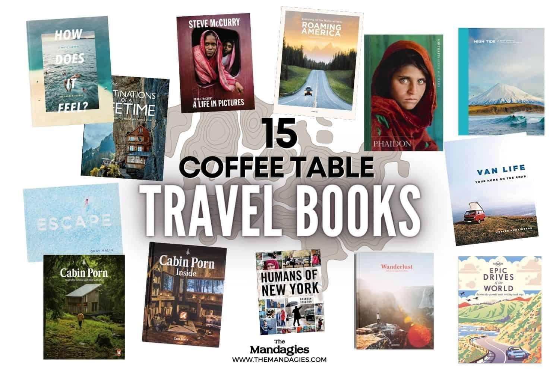 beautiful coffee table travel books
