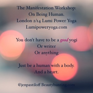 Jen is back in London for ONE workshop only Feb 14th. Book by clicking poster. This is her most popular workshop and space is limited to 50 people.