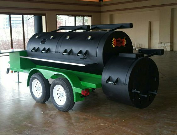 serious mobile grill