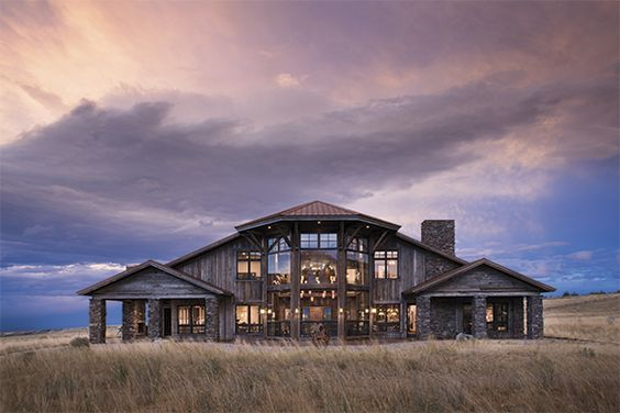 big country home