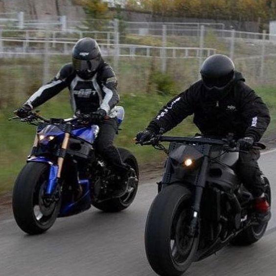 menacing bikers