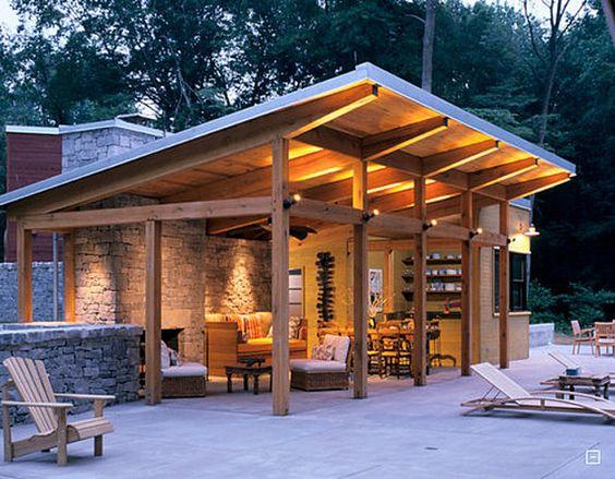 cozy patio