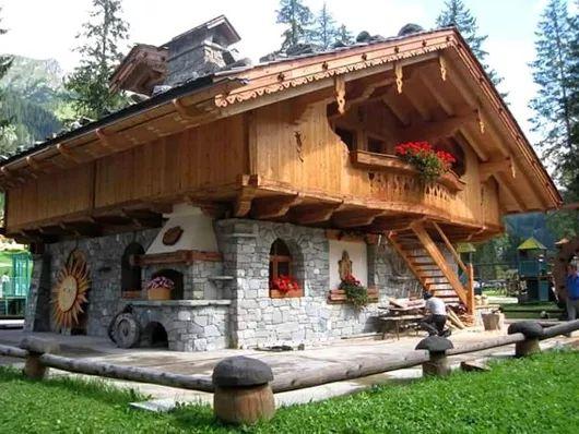 European style cabin