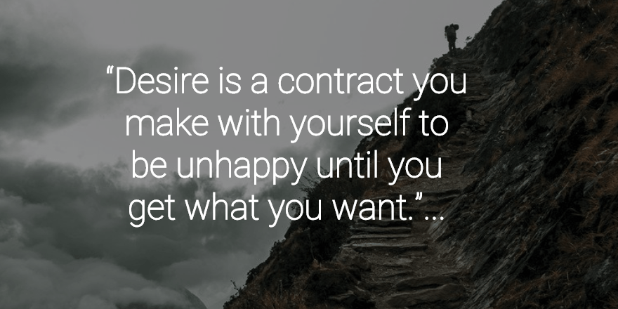 desire is a contract