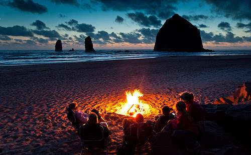 camping on the oregon coast