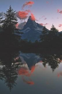 serene mountain view