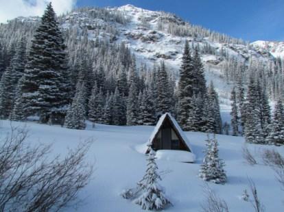 winter solitude cabin