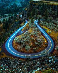 switchback road