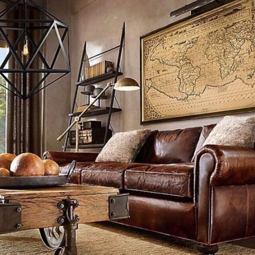 manly living room