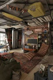 manly nostalgic loft