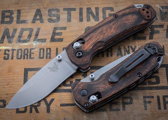 wood handle knives