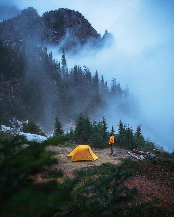 pnw campsite