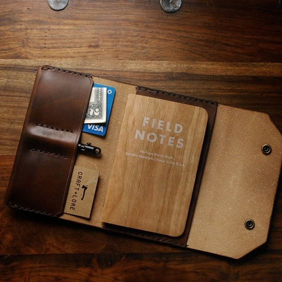 field notes leather case
