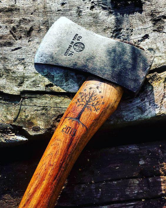 custom axe