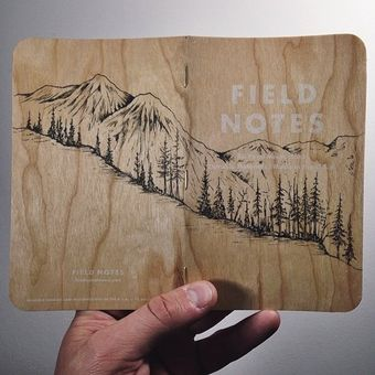 mountain scene field notes