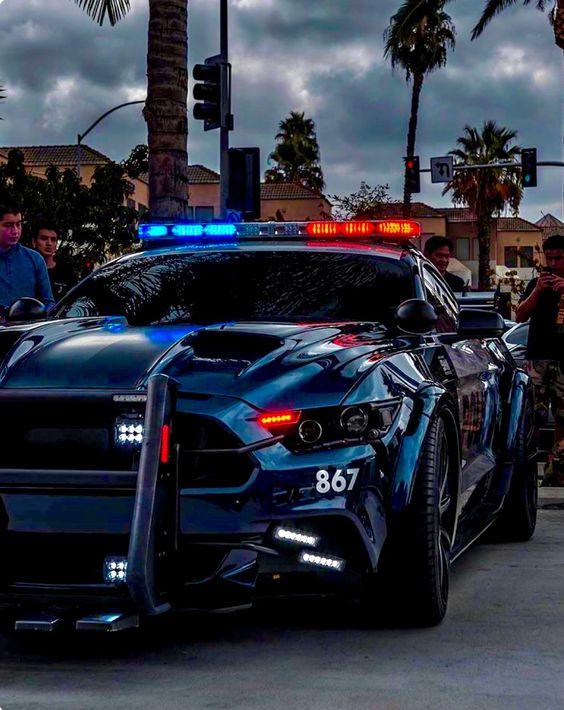 hot rod cop car