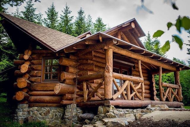 heavy duty log cabin