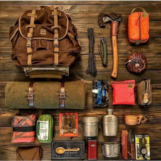 hiking gear
