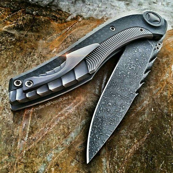 custom pocket knofe