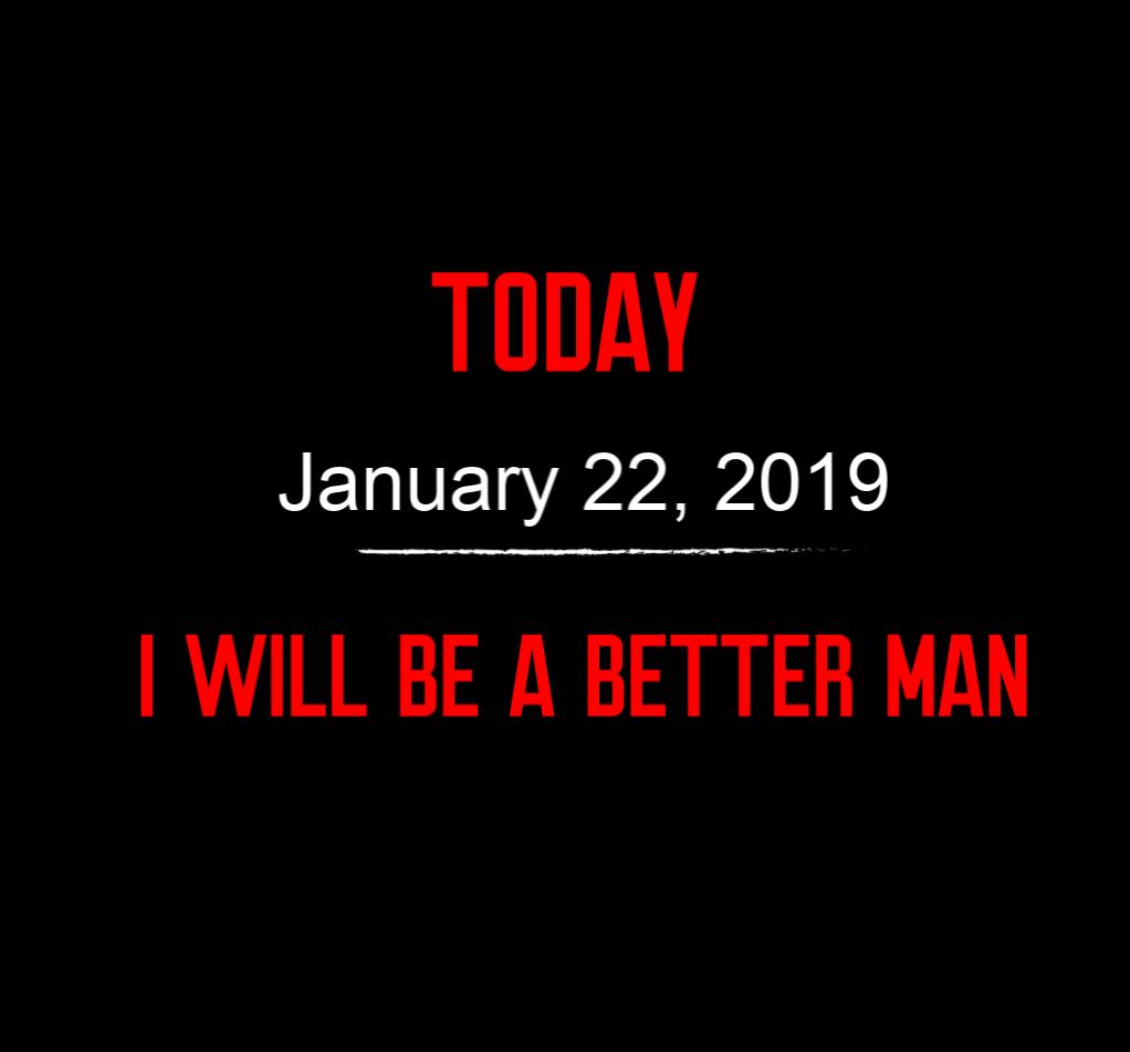 better man 1-22-19