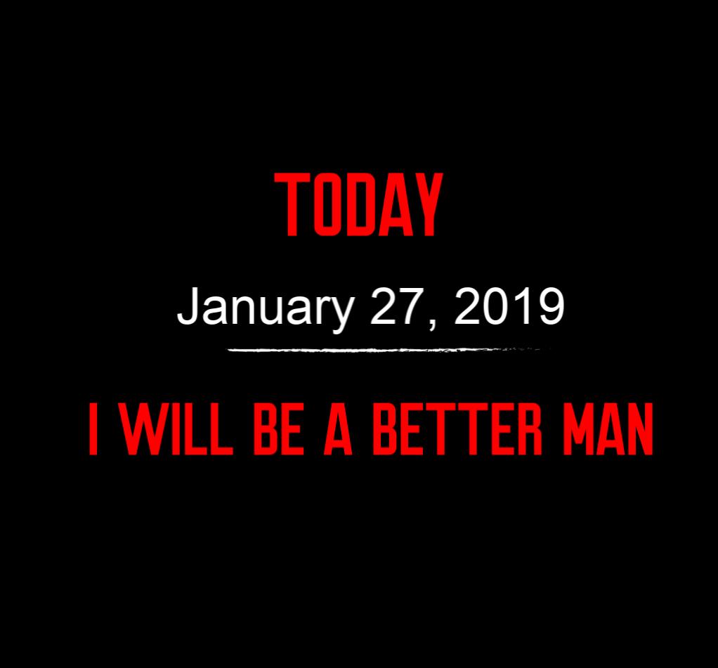 better man 1-27-19