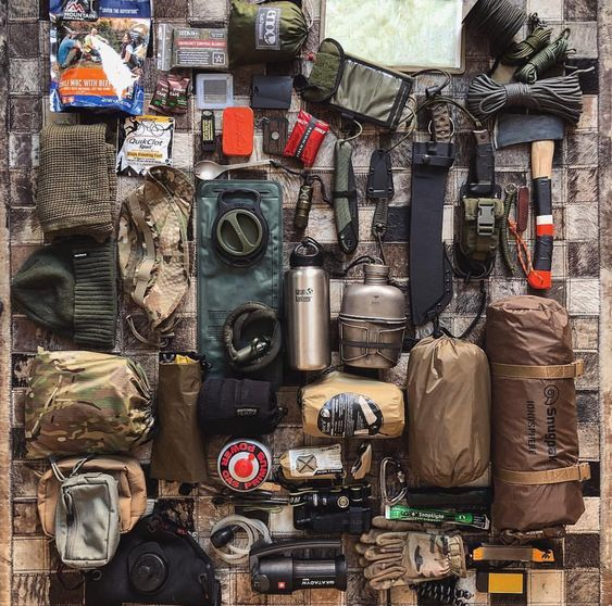 complete camping kit